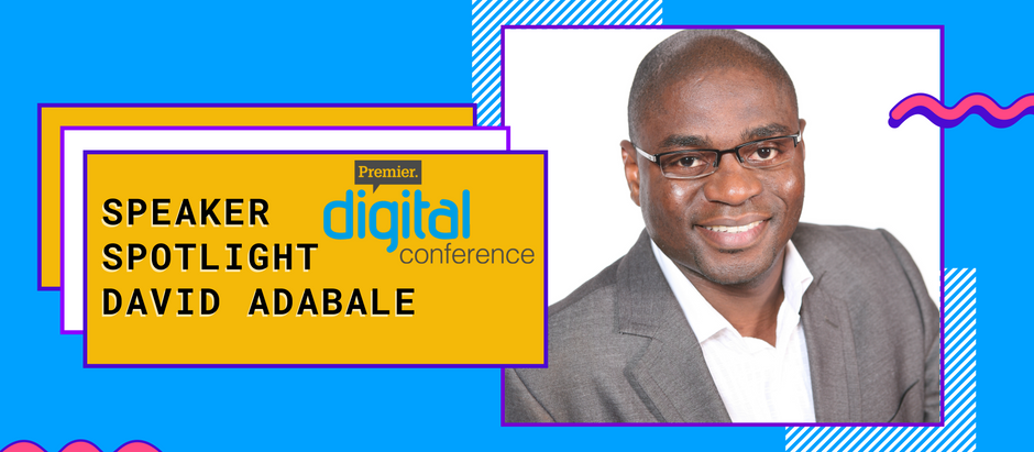 Speaker Spotlight: David Adabale