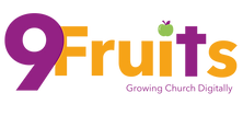 9 Fruits colour Logo with colour Digital