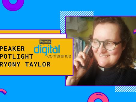 Speaker Spotlight: Bryony Taylor