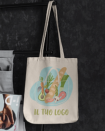 mockup-of-a-canvas-bag-hanging-against-a