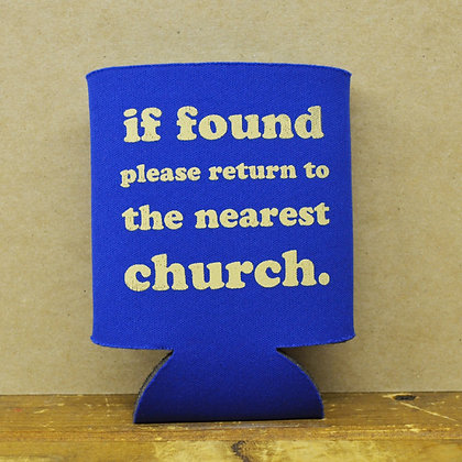 If Found, Please Return to Church