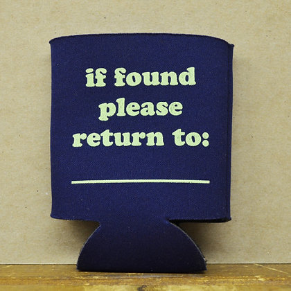 If Found Please Return To: