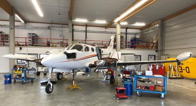 Motorentausch-Cessna 340