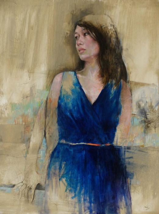 Chantal portrait by Laurent Navarre