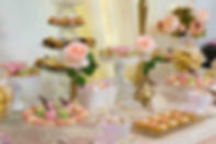 Sweet Table Baroque Chic Pastel et Doré