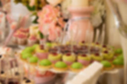 Sweet Table Bapteme Mariage Rose Gris Noukies