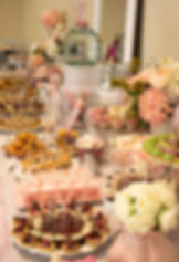 Sweet Table Bapteme Mariage Rose Gris
