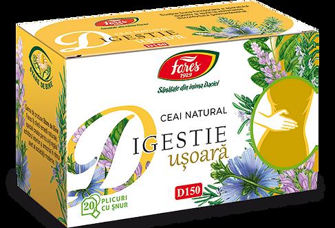 Digestie usoara, ceai, 20 plicuri