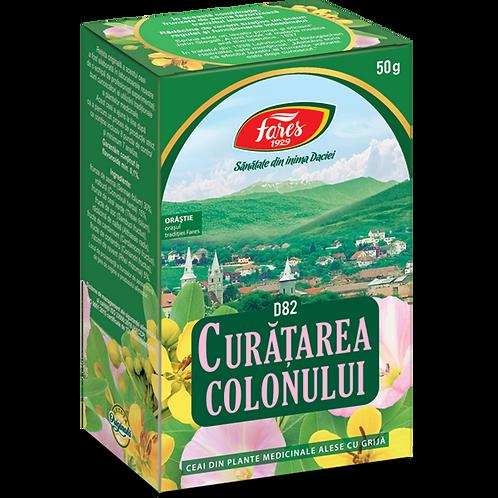Curatarea colonului, ceai la punga, 50g