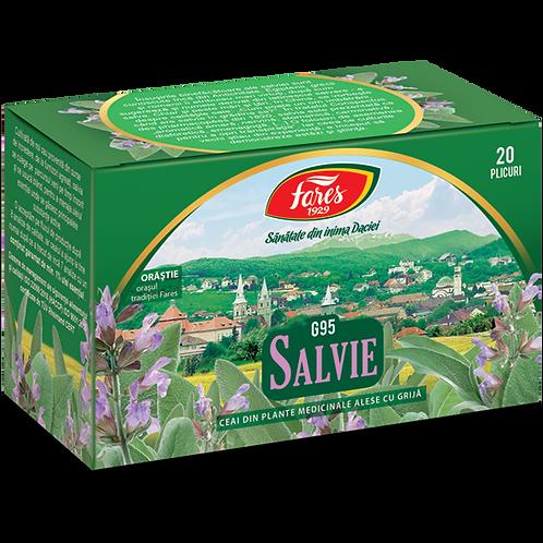 Salvie, ceai, 20 plicuri