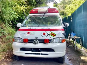 救急車の寄贈 @ボツワナ共和国