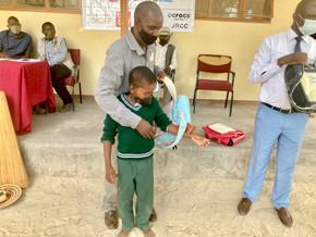 ランドセルの寄贈 @ボツワナ共和国