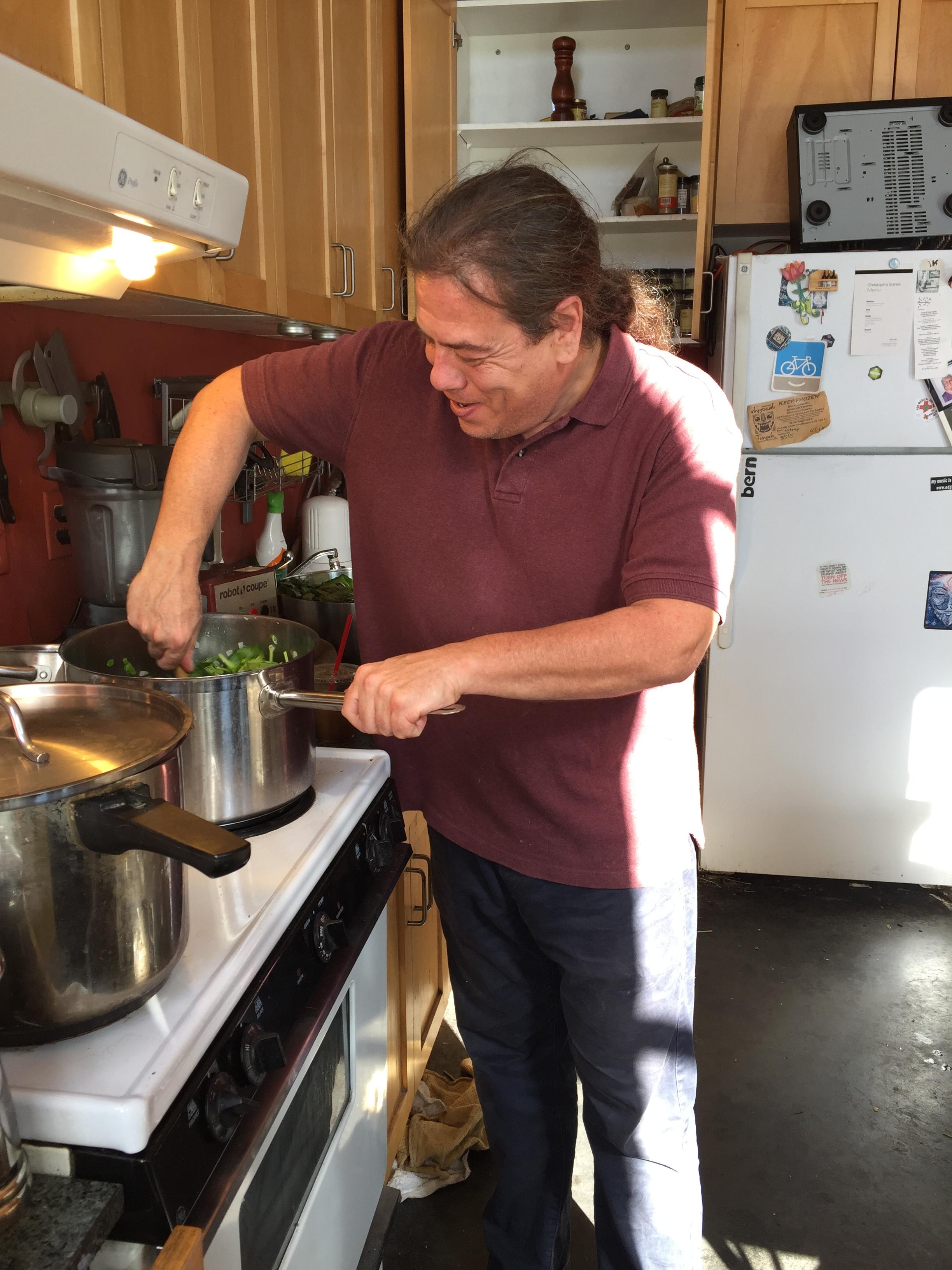 Chef Philip Gelb