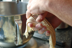 Hand made noodles