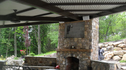 Turpin Landscaping Steel Structure