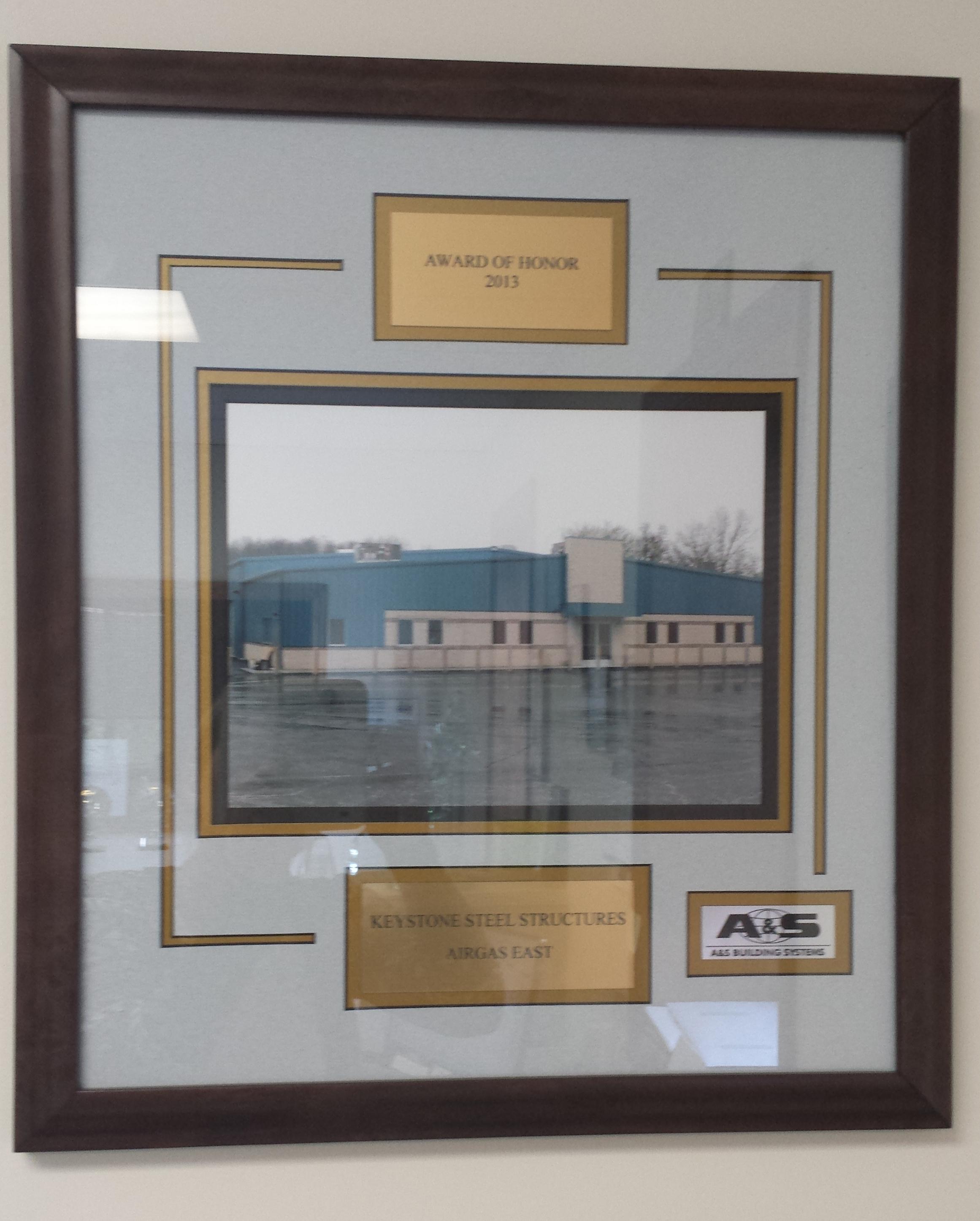 Airgas East Steel Building