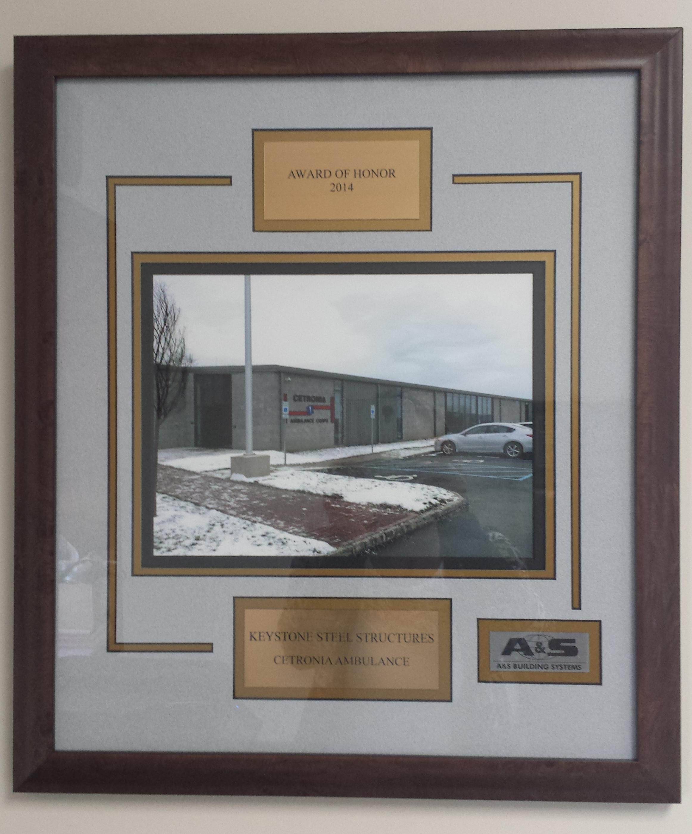 Centronia Ambulance Steel Building