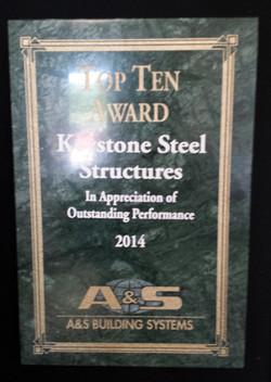 2014 Top Ten Award