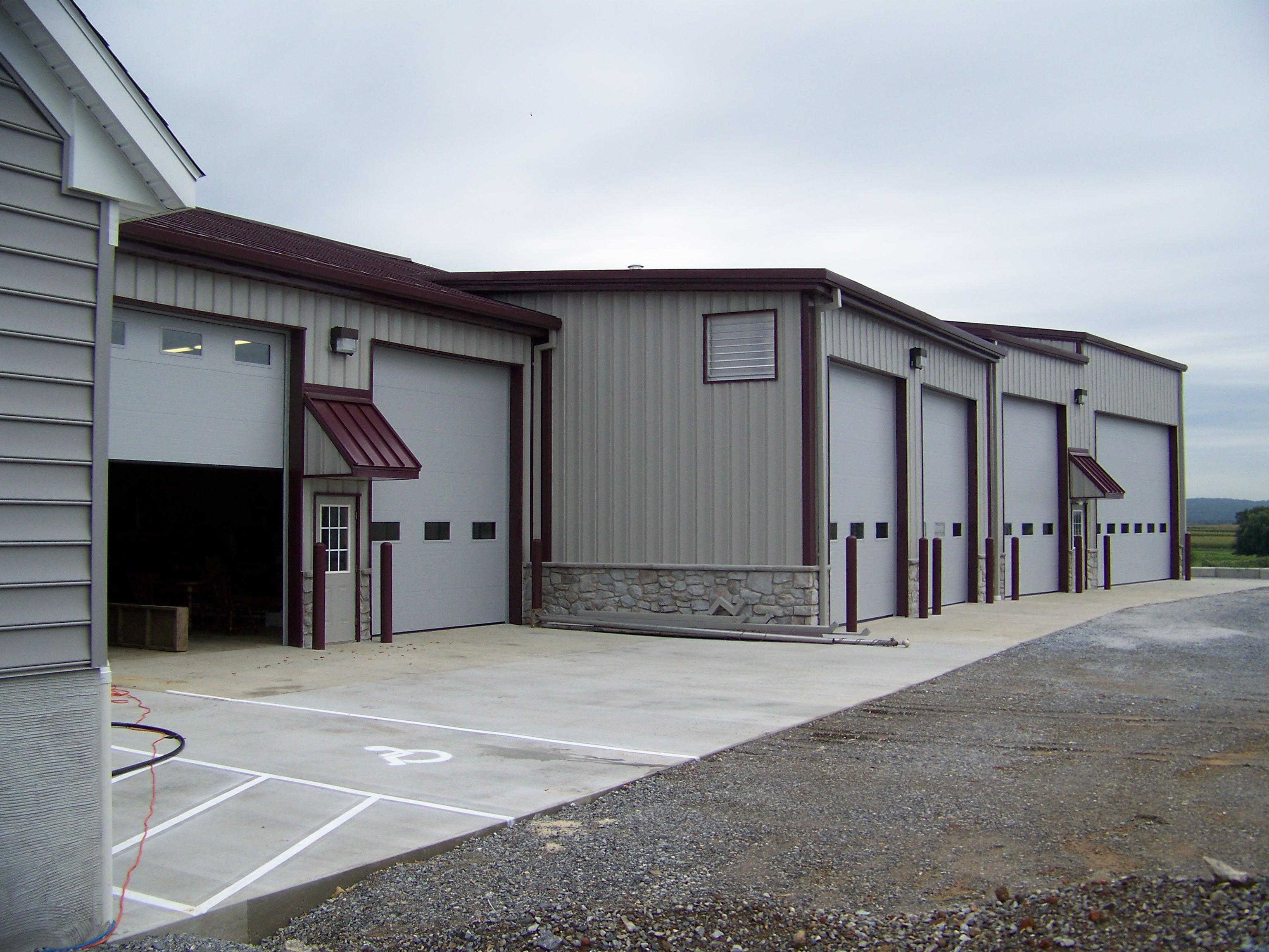 Donovan Transport Metal Building