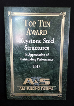 2013 Top Ten Award