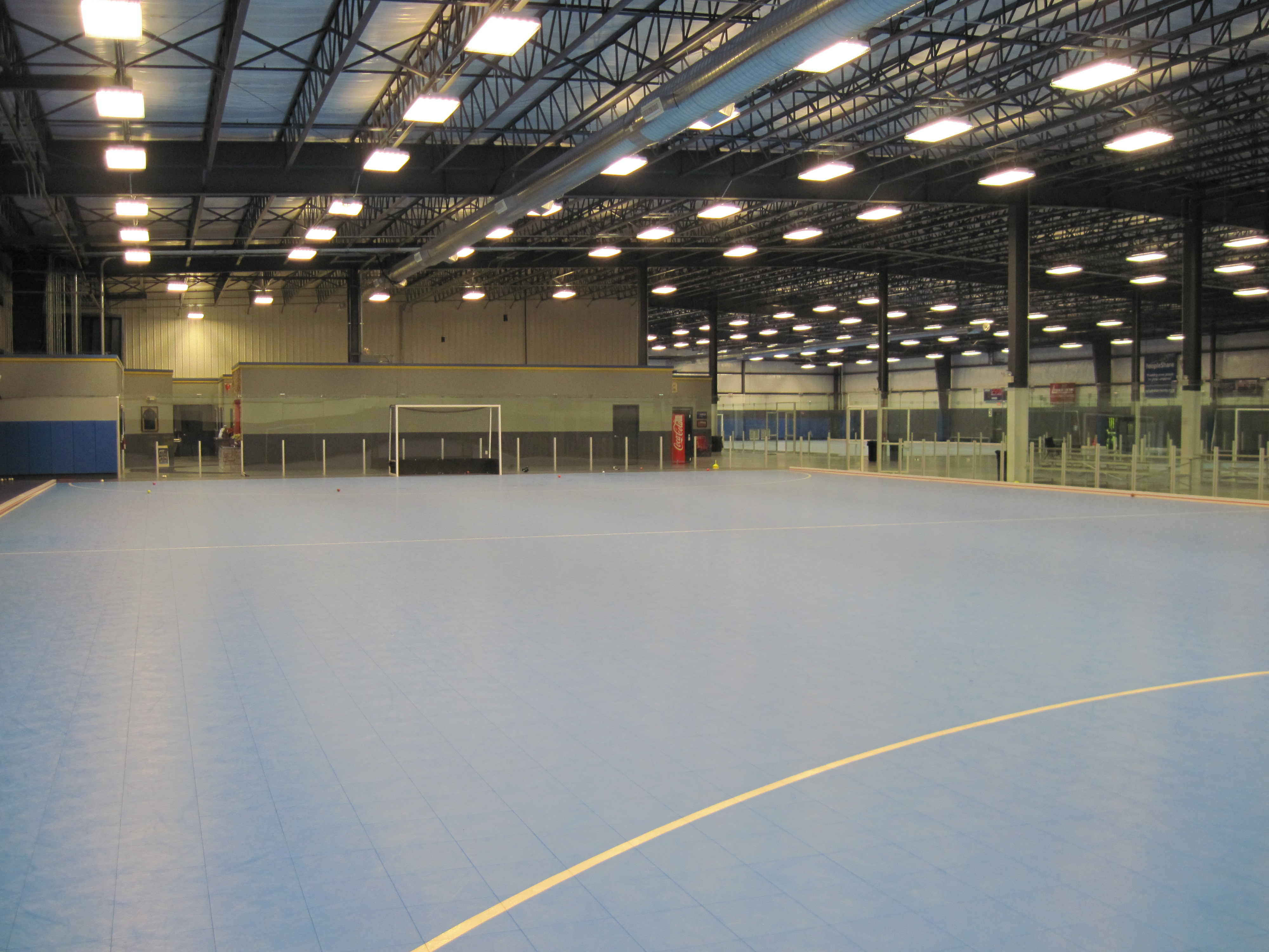 WC Field Hockey Metal Building
