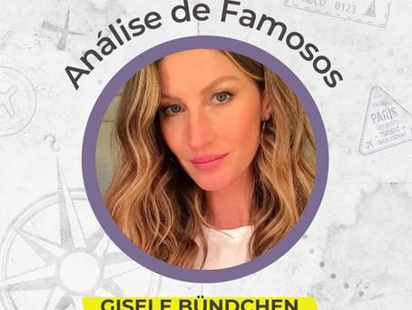 Astrocartografia de famosos - Gisele Bündchen