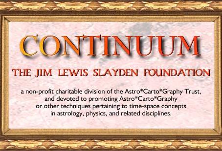 Certificação em Astrocartografia pela Continuum - Jim Lewis