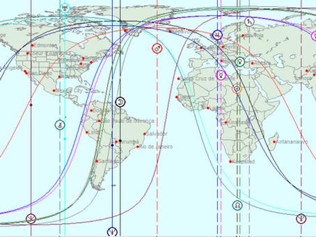 Não basta viajar para uma linha astrocartográfica. É necessário ter a postura do que deseja viver