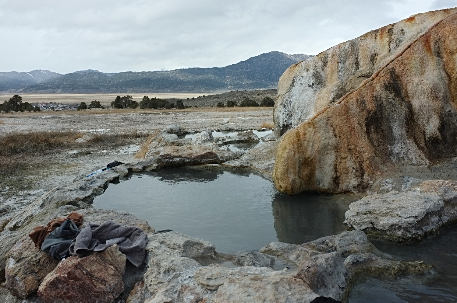 Travertine Hotsprings, California