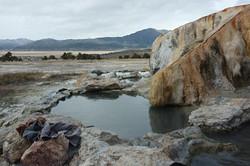 Travertine Hotsprings, California
