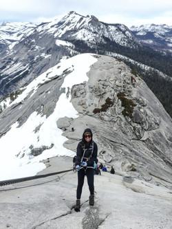 Half Dome, Cables down, Yosemite