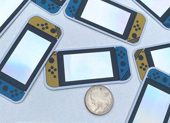 Holographic Switch Sticker