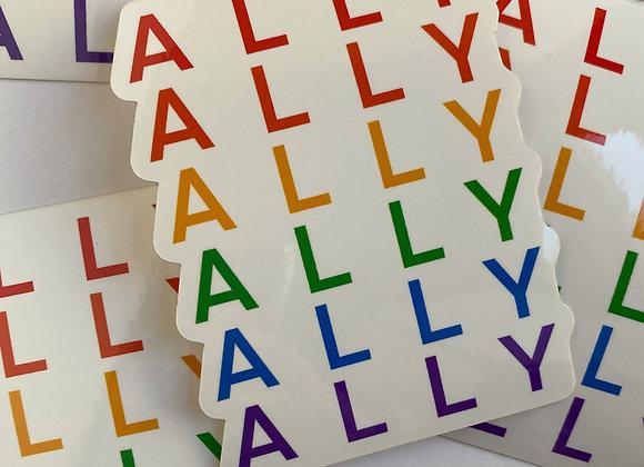 ALLY Pride Sticker