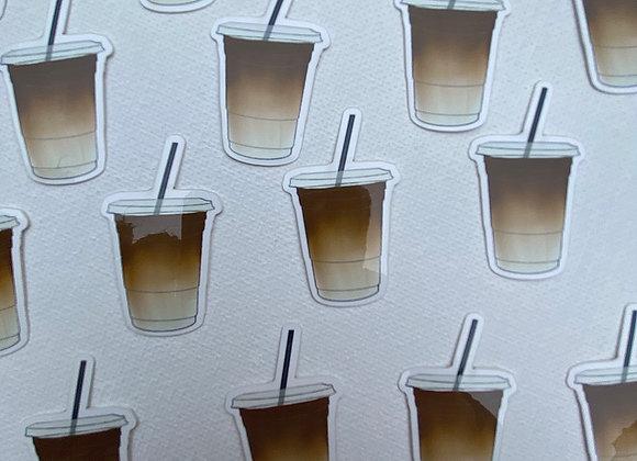 Mini Iced Coffee Sticker