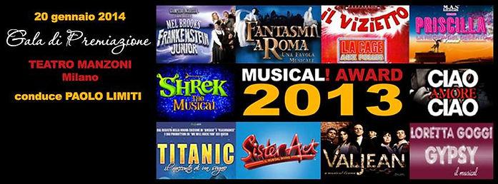 Musical Awards 2013