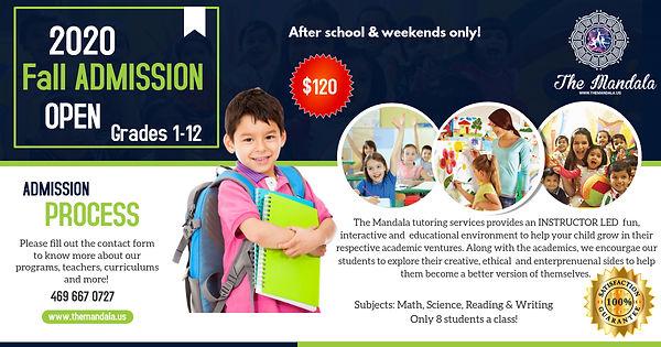 Copy of Junior School Admission Open - M