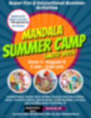 Mandala Summer Camp 2020 - Made with Pos