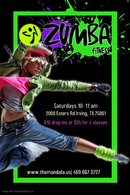 Copy of Zumba Poster - Made with PosterM