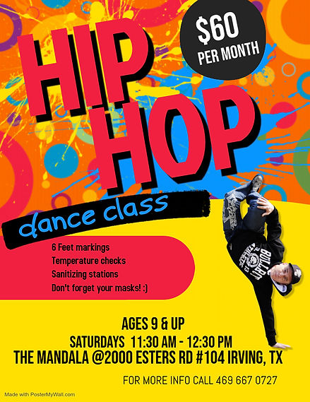Copy of Dance Class Flyer - Made with Po