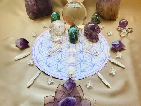 New Moon Meditation - Crystalline Violet Ray - April 11, 2021