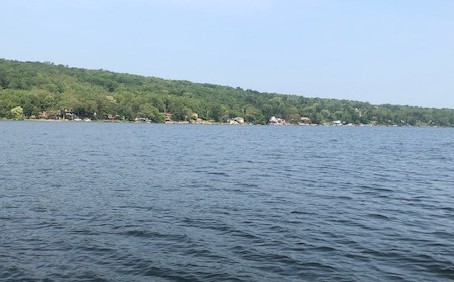 Monday August 9th 2021 Honeoye Lake Water Quality