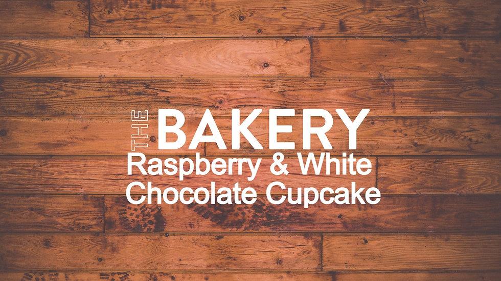 Raspberry White Chocolate Cupcake Box