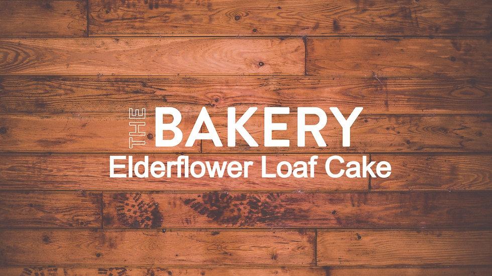 Wild Elderflower Loaf Cake