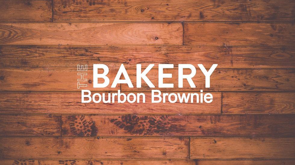 Bourbon Brownie Slice