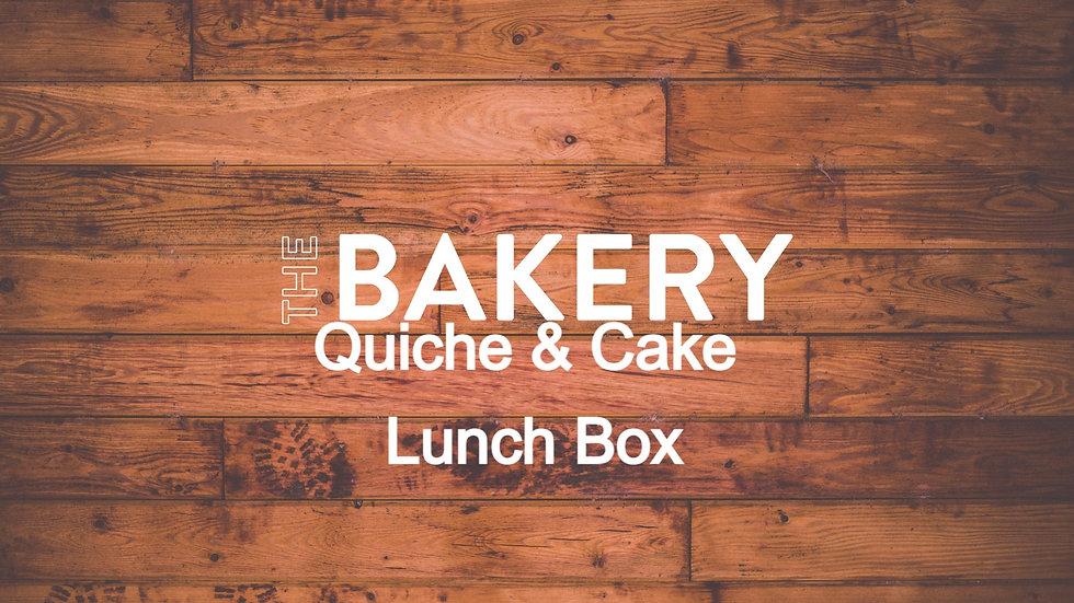 Quiche & Cake Lunch Box