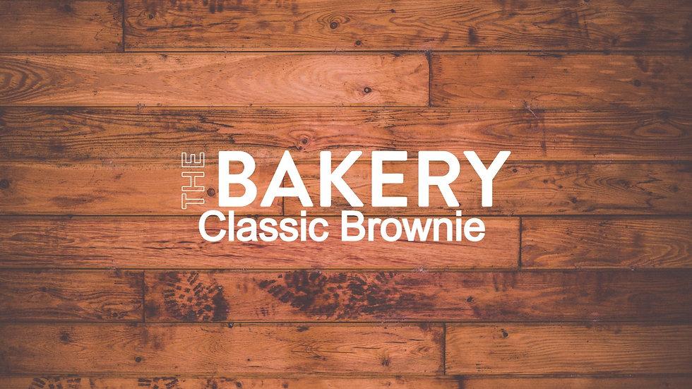 Classic Brownie Slice