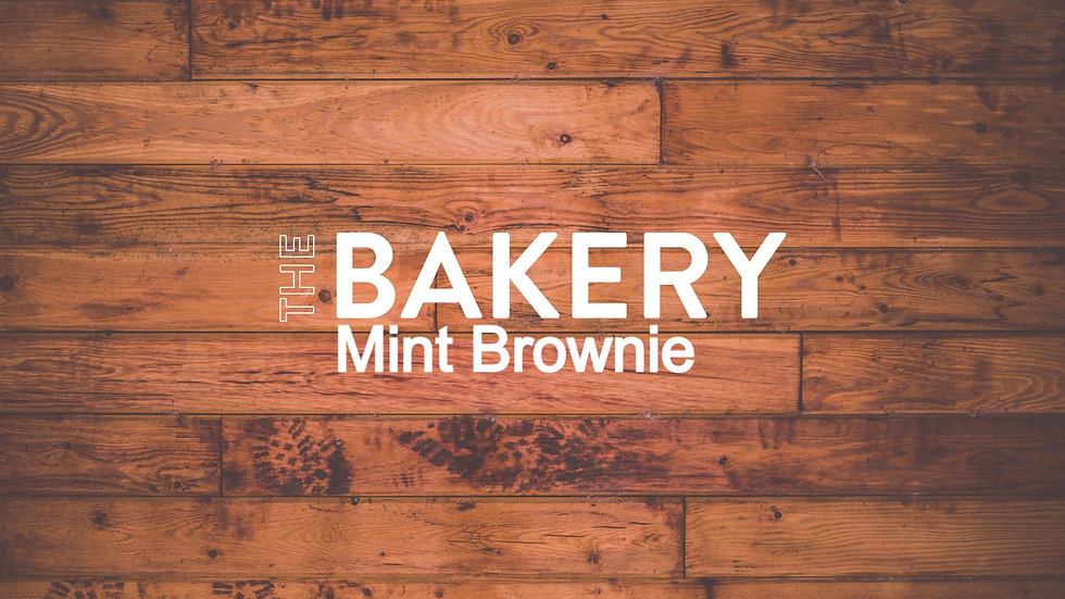 Mint BrownieTray