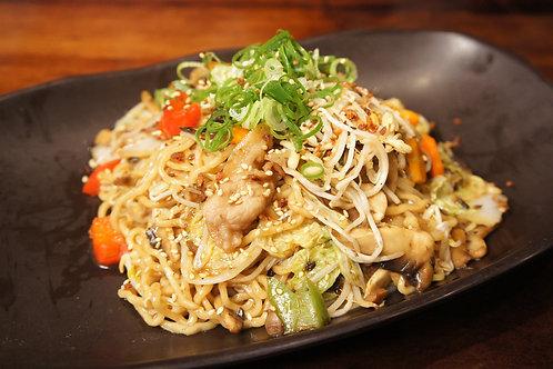 Spicy Chicken Stir Fried Noodle