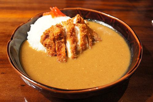 Curry Chicken Cutlet (Salad)