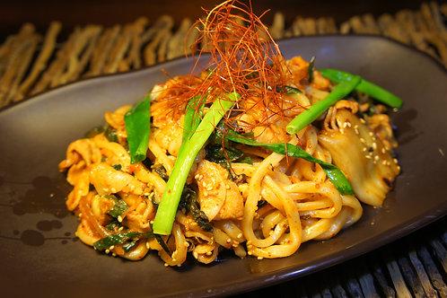 Kimchi Pork Stir Fired Udon